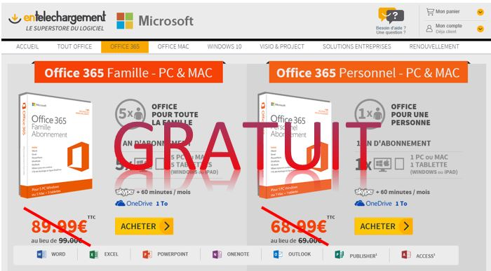 Lyc e dr me proven ale num rique scolinfo office 365 microsoft pack office - Pack office gratuit etudiant ...