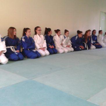 1ère séance de judo !