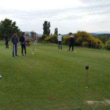 1ère Aménagements Paysagers en visite au golf !